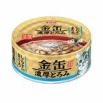 Консервы для кошек AIXIA «Kin-Can» Rich, тунец и ширасу в густом бульоне
