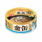 Консервы для кошек AIXIA «Kin-Can», тунец и ширасу в бульоне