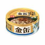 Консервы для кошек AIXIA «Kin-Can», тунец и сушеный бонито в бульоне