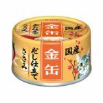 Консервы для кошек AIXIA «Kin-Can» Dashi, куриное филе в желе-бульоне