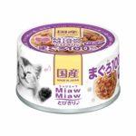 Консервы для кошек AIXIA «MiawMiaw» Tobikiri, тунец и сушеный бонито в нежном желе