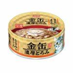 Консервы для кошек AIXIA «Kin-Can» Rich, тунец и куриное филе в густом бульоне