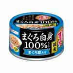 Консервы для кошек AIXIA «Yaizu-no-Maguro» White Meat 100%, тунец и сушеный тунец в нежном желе